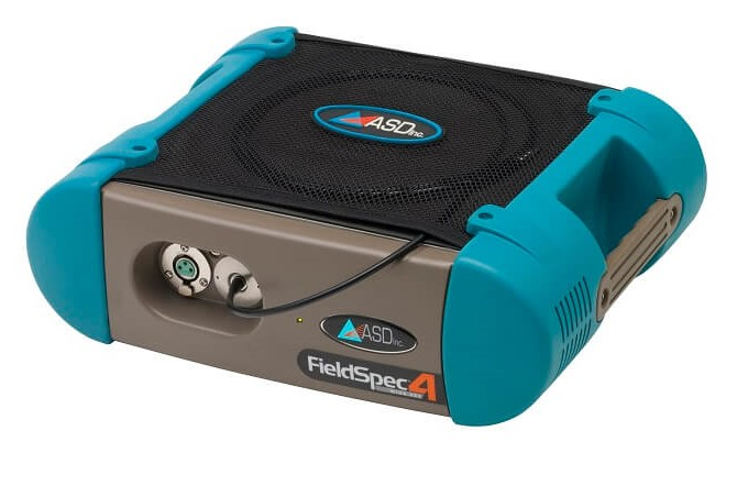 Portable UV-vis-NIR spectroradiometer