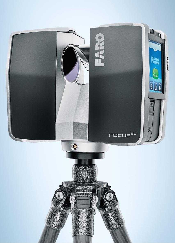 Faro Focus 3D terrestrial laser scanner