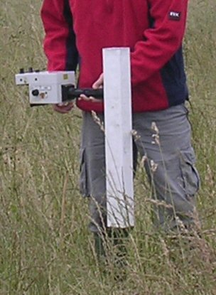 FM36 fluxgate gradiometer (single sensor magnetometer instrument) #1